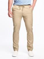 Old Navy Slim Built-In Flex Drawstring Pants for Men