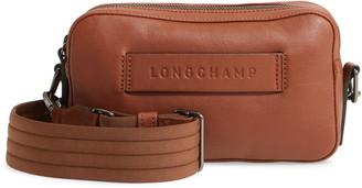 Longchamp 3D Rectangular Leather Crossbody Bag