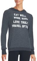 Wildfox Couture Graphic Hoodie