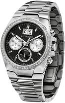Wittnauer Men's Gunmetal Dial Chronograph Stainless Steel Watch, 41mm