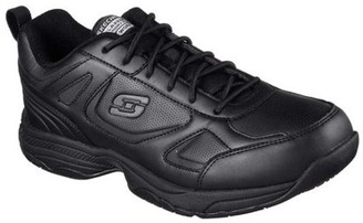 Skechers Men's Relaxed Fit Dighton Slip Resistant Work Shoes