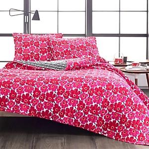 Marimekko Mini Unikko Quilt Set, Twin