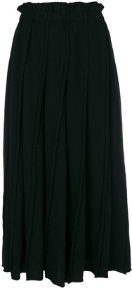 Comme Des Garçons Pre-Owned Straight Pleated Skirt