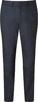 John Lewis Yarn Dye Herringbone Stripe Trousers