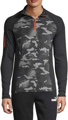 Superdry Carbon Zip-Neck Top