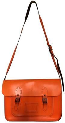Cambridge Satchel Company Orange Leather Handbags