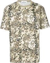 Stone Island alligator camouflage T-shirt
