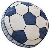 Artextile Cute Soccer Ball Cotton Quilt Throw Pillow Cushion for Kids Home Decoration,40x15cm