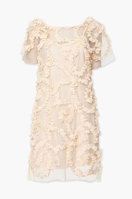 Forever 21 Textured Combo Mini Dress