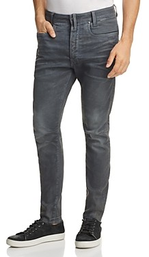 G Star D-Staq 3D Super Slim Jeans in Dark Aged Cobbler Blue