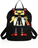 Prada Tessuto Nylon Robot Backpack