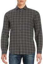 Black Brown 1826 Flannel Sportshirt