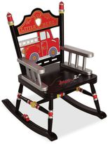 Levels of Discovery Fire Engine Personalizable Child's Rocking Chair