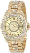 XOXO Women's XO5665 Analog Display Quartz Gold Watch