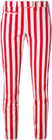 Dondup striped cropped pants - women - Cotton/Spandex/Elastane - 25