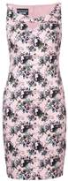 Moschino floral print fitted dress