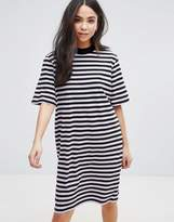 Cheap Monday Stripe Smash T-Shirt Dress