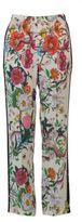 Gucci Flora Snake Silk Pajama Pant