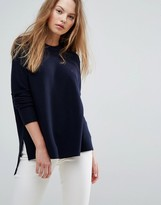Tommy Hilfiger Dip Hem Knit Sweater