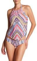 Laundry by Shelli Segal Printed Hipster Bikini Bottom