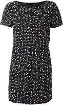 Les Copains flocked effect dress - women - Polyamide/Polyester/Acrylic/Acetate - 40