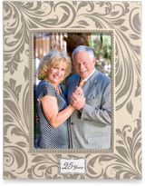 Bed Bath & Beyond 25 years of Marriage 5-Inch x 7-Inch Sentiment Frame