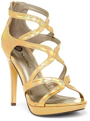 Michael Antonio Riot Metallic Platform Dress Sandal