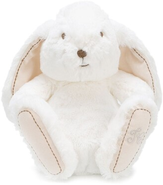 Tartine et Chocolat textured logo embroidered bunny soft toy