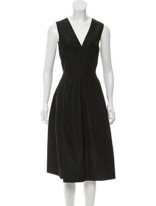 Narciso Rodriguez 2019 Midi Length Dress w/ Tags Green