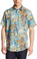 Margaritaville Men's Short Sleeve Six String Bbq Shirt