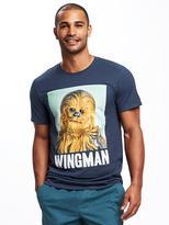 "Old Navy Star Wars Chewbacca ""Wingman"" Tee for Men"