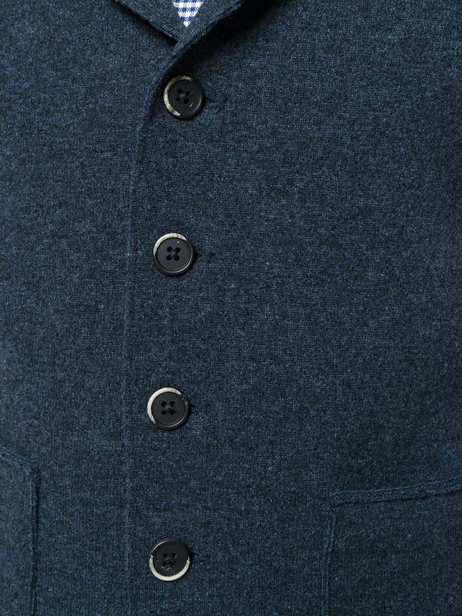 Barena button front waistcoat