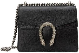Gucci black Dionysus mini leather bag