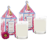 Seda France Lis Blanc Pagoda Candles (10 OZ) (Set of 2)