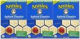 Gerber Annie's Homegrown Organic Bunny Classic Crackers - Saltines - 6.5 oz - 3 pk
