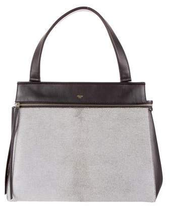Celine Ponyhair Medium Edge Bag