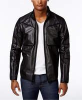 Calvin Klein Men's Slim-Fit Mesh Baseball Jacket