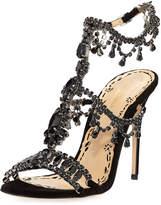 Marchesa Grace Jeweled High Dressy Sandal