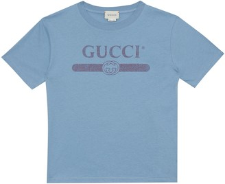Gucci Kids Logo cotton T-shirt