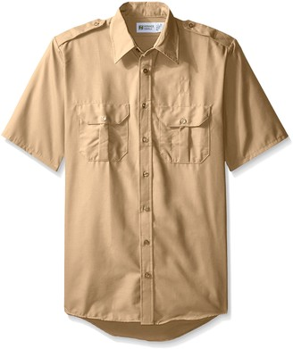 Horace Small Men's Big and Tall Classic Short Sleeve Security Shirt