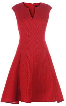 DKNY Occasion Mesh Panel Dress