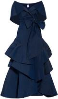 Rosie Assoulin October Lettuce Ruffled Top And Skirt