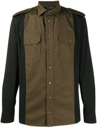 Neil Barrett Military-Style Slim-Fit Shirt