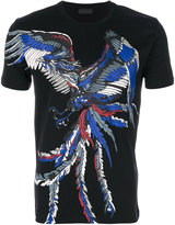 Diesel Black Gold bird print T-shirt
