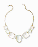 Ann Taylor Multicolored Crystal Statement Necklace