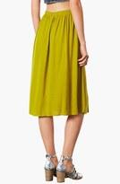 Topshop Double Split Midi Skirt