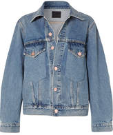 Gold Sign The Morton Denim Jacket - Mid denim