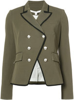 Veronica Beard double breasted military jacket - women - Spandex/Elastane/Viscose - 2