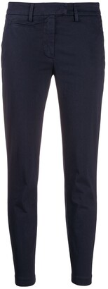 Dondup Plain Skinny Trousers