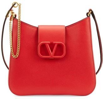 Valentino Small VSling Leather Hobo Bag